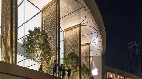 Apple Store Dubai Mall celebrates the sun and Arabic culture, says Stefan Behling of Foster + Partners