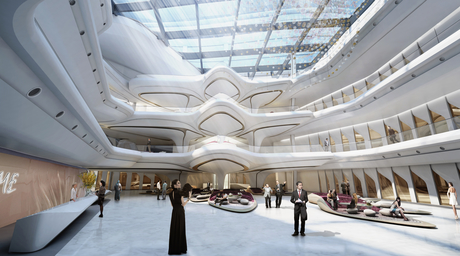 New interior images revealed for Zaha Hadid-designed The Opus in Dubai