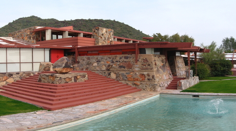 Trekkers can now walk in the footsteps of Frank Lloyd Wright