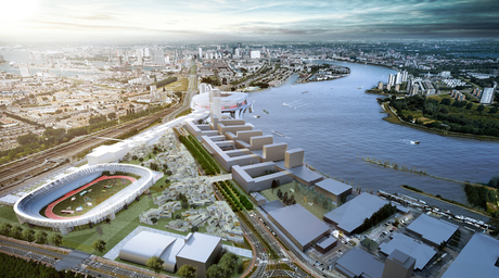 OMA's Feyenoord City masterplan features new stadium and neighbourhood redevelopment