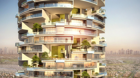Tree-lined Viceroy JVC tower by SKAI Holdings is 40 per cent complete