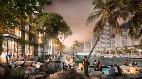 SOM designs masterplan for Colombo inspired by Sri Lanka's tropical climate
