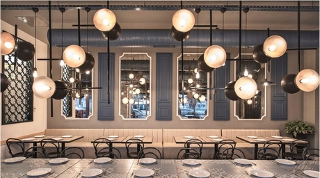 Caglayan Architects use vintage elements to create nostalgic experience for Istanbul restaurant
