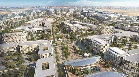Woods Bagot uses parametric design for new Aljada development in Sharjah