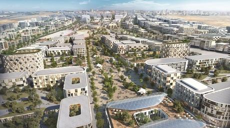 Woods Bagot uses parametric design for new Aljada development in Sharjah