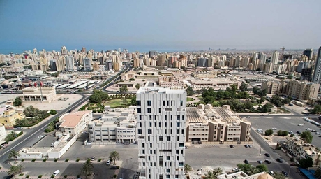 A new housing project by AGi Architects in Kuwait reinterprets single-family living