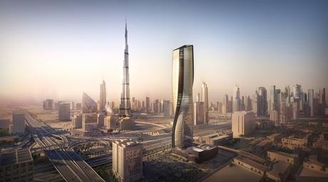 UNStudio to build skyscraper for Dubai with world's tallest ceramic facade