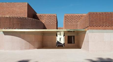 Studio KO's brickwork Yves Saint Laurent museum opens in Marrakesh