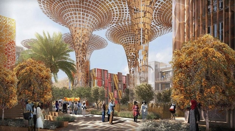 First country pavilions for Expo 2020 Dubai make construction progress