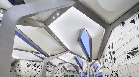 Hufton+Crow photographs Zaha Hadid's KAPSARC research centre in Saudi Arabia