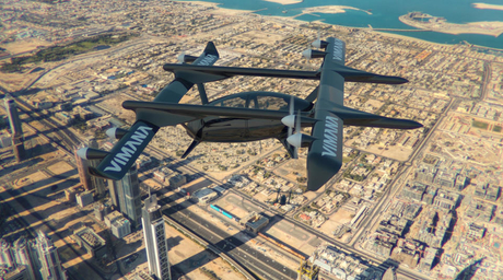 New electric-powered flying taxi proposed for Dubai