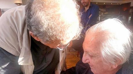 Rasem Badran catches up with Rifat Chadirji