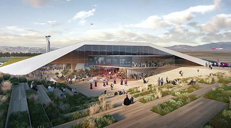 UNStudio to design new extension of Georgia's Kutaisi International Airport