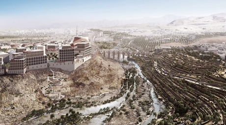New images and details revealed for Allies and Morrison's Oman city masterplan