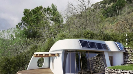 Lebanese architect creates home from recycled materials that generates electricity