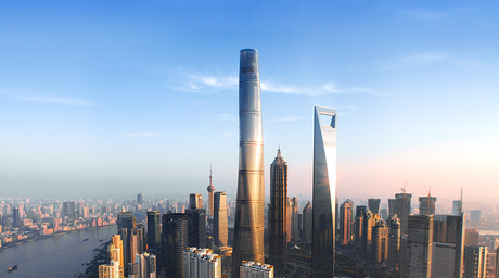 World's second tallest tower designed by Gensler opens in Shanghai