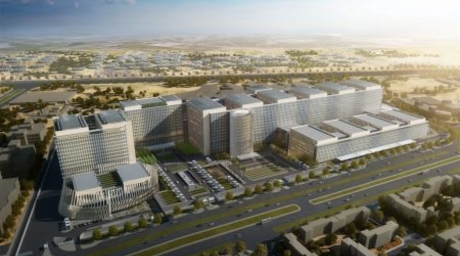 Preview: SOM designs region's largest cancer centre for Egypt