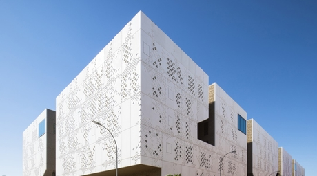 Mecanoo's new Palace of Justice building is a modern take on Cordoba's Great Mosque