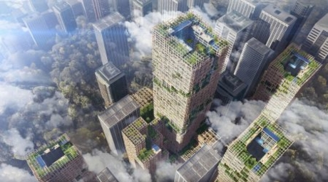 Sumitomo Forestry to build the world's tallest timber skyscraper in Tokyo