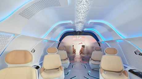 First prototype of Hyperloop One passenger pods unveiled in Dubai
