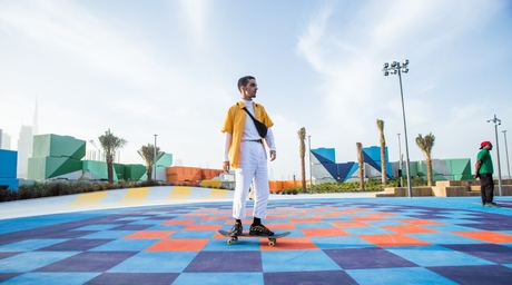 Inside The Block, desert INK's new park in Dubai Design District