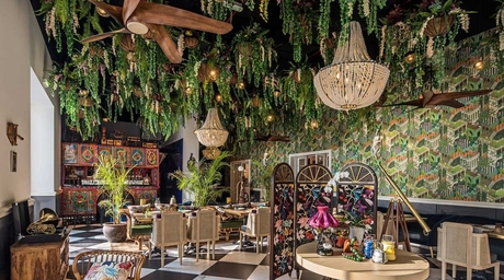 Stickman Tribe reinterprets colonial elements for Indian dining concept in Dubai