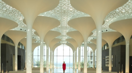 A look inside Woods Bagot-designed Kempinski Hotel in Muscat