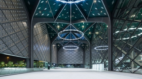 Foster + Partners designs stations for the Haramain High Speed Rail project in Saudi Arabia