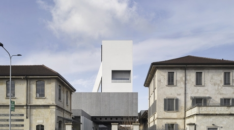 OMA completes Fondazione Prada project in Milan with addition of new concrete tower
