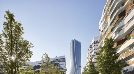 Zaha Hadid Architects reveals twisting Generali Tower during Milan Design Week