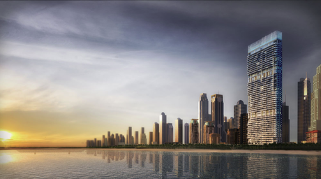 Edge's 1/JBR tower in Dubai has a 'bold and clear design' says Ivar Krasinski