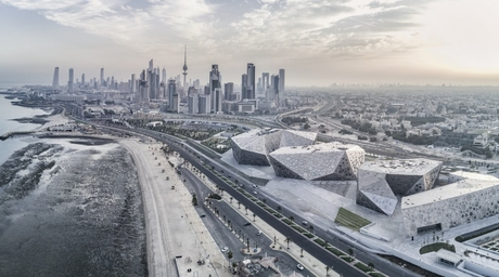 SSH-designed Sheikh Jaber Al Ahmad Cultural Centre in Kuwait wins MEED Projects Award