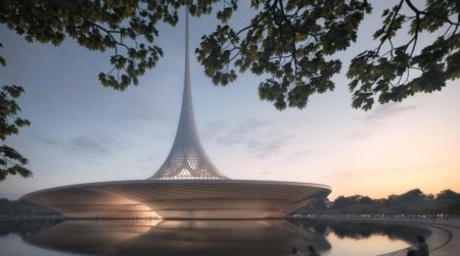 Foster + Partners release images of designs for new Indian state capital of Amaravati