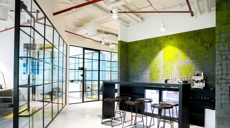 Dewan releases images of its new collaborative workspace in Dubai Design District
