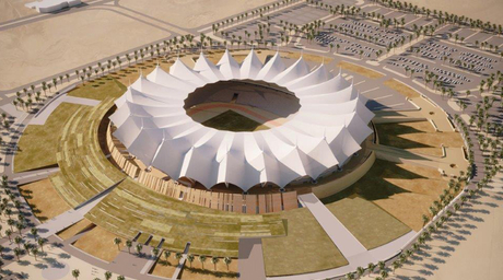 Eight well-designed stadiums from the Middle East