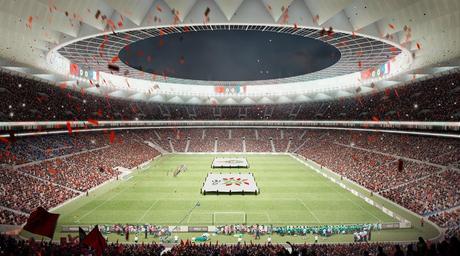 Cruz y Ortiz Arquitectos reveals stadium for final match at Morocco 2026 FIFA World Cup