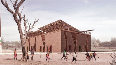 Dubai-based Amkna Design Studio's cultural centre in Senegal has been shortlisted for WAF 2018