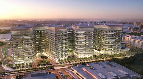 Kuwait's billion-dollar, 15-storey healthcare project to feature harmonious interior spaces