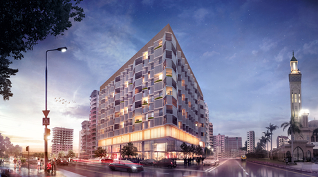 Teela Residences in northern Egypt was inspired by the local textile industry