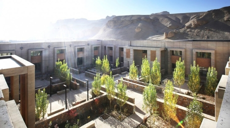 Arcop designs hospital on historic Silk Road in Bamyan, Afghanistan