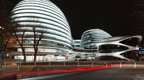 Spanish photographer Andres Gallardo reveals new images of Zaha Hadid Architects' controversial Galaxy Soho project in Beijing
