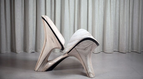 Zaha Hadid Architects reveals $145,000 Lapella Chair