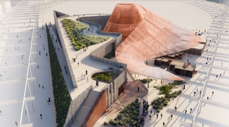 Expo 2020 reveals 'Opportunity Pavilion', made completely of recyclable materials