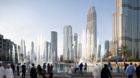 SSH to design new high rise tower for Emaar's Opera District in Dubai