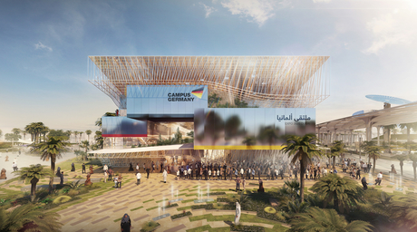 Visitors will experience the German Pavilion at Expo 2020 Dubai with an 'invisible companion'