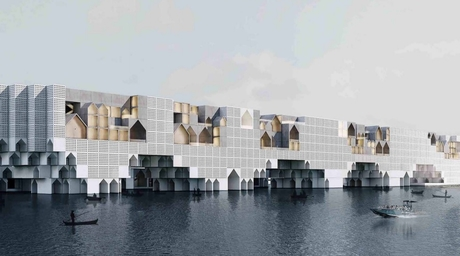 Floating City by Kamran Heirati Architects wins Concept Design of the Year