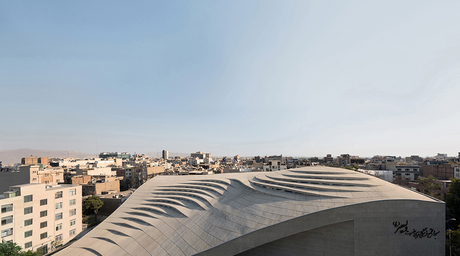 Valiasr Mosque by Fluid Motion Architects wins Community and Cultural Project of the Year