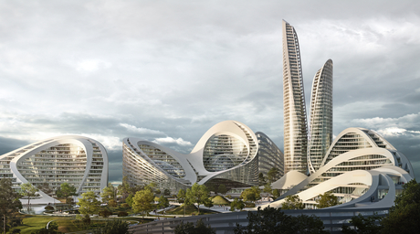 Video: Zaha Hadid Architects to build smart city in Russia