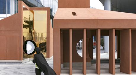 Anarchitect's clay-clad installation at Dubai Design Week explores the human circadian rhythm