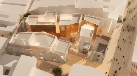 Dubai architects including Steven Velegrinis and Islam El Mashtooly submit design concept for Baghdad Design Center